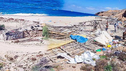 سلطات عمالة الدريوش تقود حملة غير مسبوقة لتحرير الملك البحري بشواطئ الإقليم