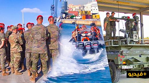 إسبانيا تستمر في إستفزاز المغرب وتحضر 200 طالب عسكري للتدرب بمليلية
