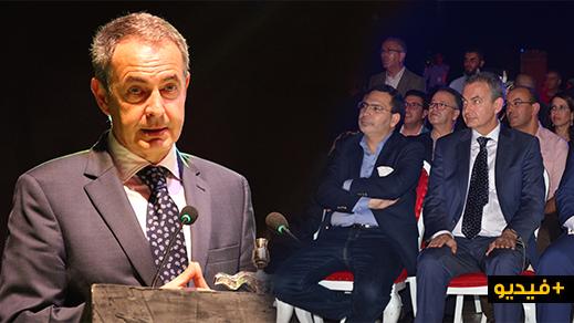 رئيس وزراء اسبانيا الأسبق يشيد من الناظور بالنموذج المغربي في السلم والسلام