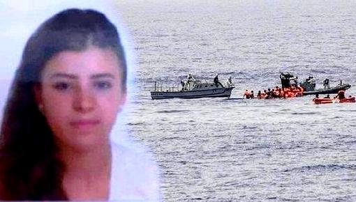 """صورة.. هذا ما كان بحوزة  الشابة """"حياة بلقاسم"""" التي توفيت برصاص البحرية الملكية"""