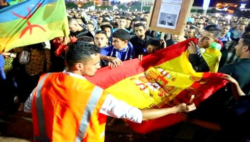 اسبانيا تمنح حق اللجوء لـ 40 ناشطا بحراك الريف ينحدرون من الحسيمة