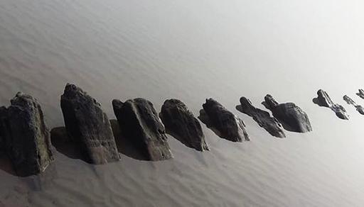 مثير... وزارة الثقافة تعثر على بقايا حطام سفينة غرقت أواخر القرن الثامن عشر