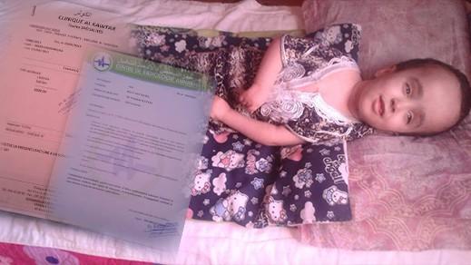 شميشة طفلة صغيرة تعاني من إعاقة حركية تطالب المحسنين مساعدتها على العلاج