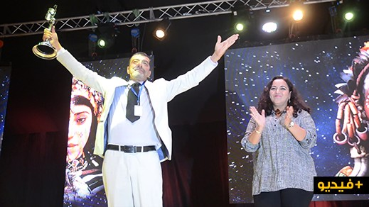 """هكذا علق الفنان الريفي المقتدر """"فاروق أزنابط"""" على تكريمه الحافل بمهرجان السينما الدولي بالناظور"""