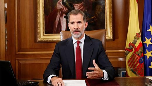 هذا ما قاله ملك اسبانيا عن مليلية المحتلة خلال الاحتفال بالعيد الوطني