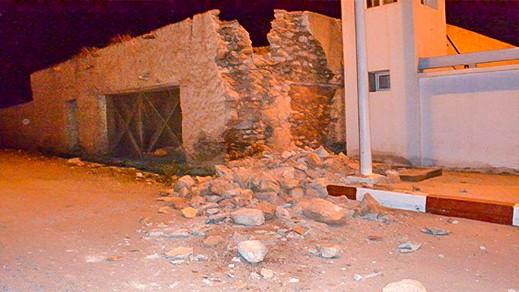 انهيار بناية قديمة بدار الكبداني يعيد سؤال المنازل الآيلة للسقوط إلى الواجهة