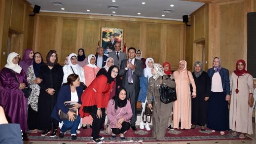 رئيس جهة الشرق يوقع 35 اتفاقية مع التعونيات النسائية بالعالم القروي