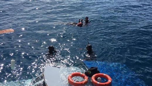 غرق قارب على متنه 62 مغربيا مرشحا  للهجرة السرية