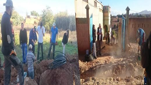 شراكات وطنية وأجنبية تحقق حلم ساكنة أجدير بتمسمان في الحصول على المياه الشروب