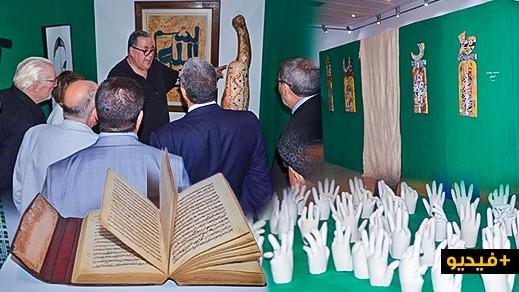 """معرض لفنانيين تشكيليين بينهم ناظوريون حول """"الطرق الروحانية"""" على هامش """"معرض الكتاب"""" بوجدة"""