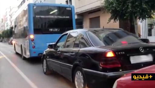 """إسناد سائقي حافلات """"فيكتاليا"""" مهمة """"قطع"""" التذاكر للركاب يتسبب في عرقلة السير والسائقون يشتكون"""