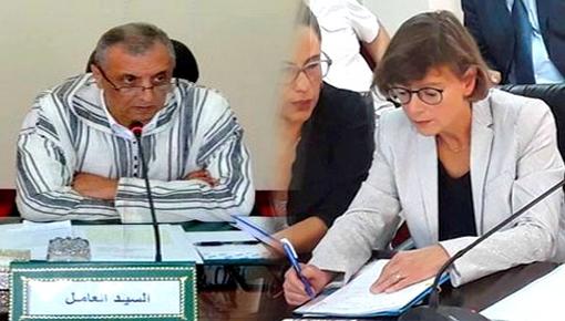 الدعم والهجرة والأوضاع بالحسيمة محور لقاء جمع عامل الإقليم بسفيرة الإتحاد الأوروبي
