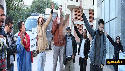 """الناظور: حقوقيون يحتجون على تعرض بائعين متجولين لـ""""الاعتداء بالضرب"""" على يد عون للسلطة"""