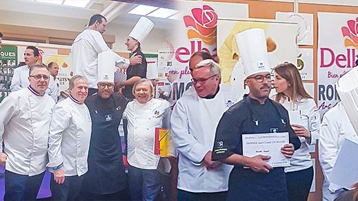 """محترف الحلويات """"البوطيبي"""" ينال مرتبة متقدمة في مسابقة """"الشوكولاتة"""" العالمية بفرنسا"""