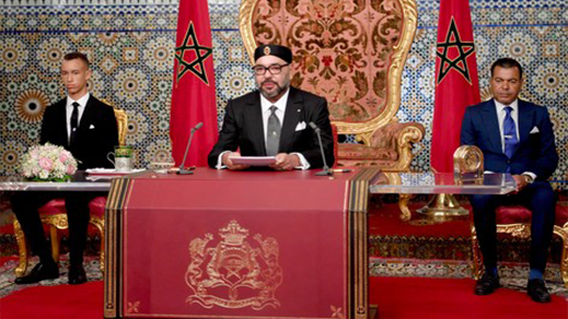خطاب جلالة الملك محمد السادس في ذكرى المسيرة الخضراء