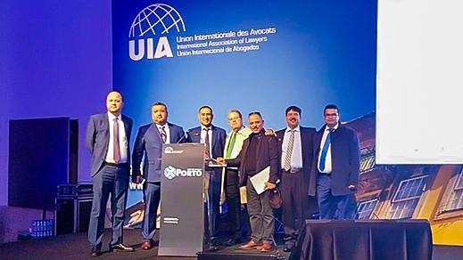 هيئة المحامين بالناظور تشارك في المؤتمر السنوي للإتحاد الدولي للمحامين بالبرتغال