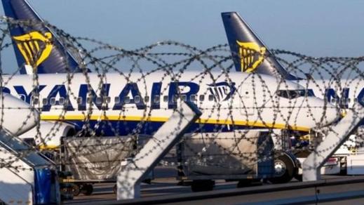 """السلطات الفرنسية تحتجز طائرة لـ""""ريان إير"""" على متنها 149 راكبا لهذا السبب"""