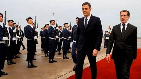 """هذه أهم الملفات التي سيناقشها رئيس الحكومة الإسباني والعثماني وأبرزها """"الحريك"""" ومعبر بني أنصار"""