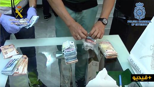 بالفيديو.. توقيف عصابة إجرامية مكونة من 27 شخصا تستولي على حمولة الشاحنات بطرقات إسبانيا