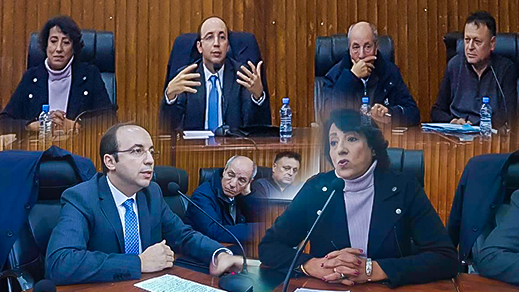 المستشار محمد أشن يشخص مشاكل قطاع الصحة بإقليم الدريوش وجماعة دار الكبداني أمام وزير الصحة