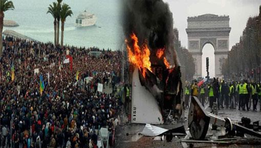 برلمانية عن العدالة والتنمية تقارن بين احتجاجات حراك الريف واحتجاجات الفرنسيين