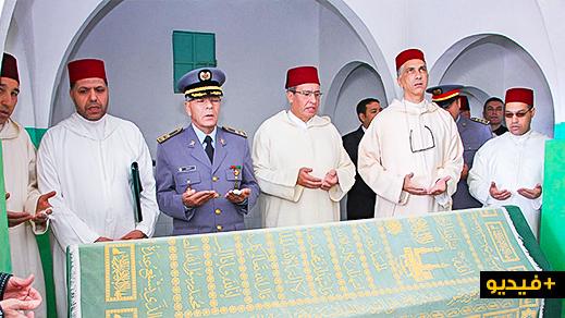 تسليم هبة ملكية للقائمين على ضريح الشريف محمد أمزيان لإحياء ذكرى وفاة الراحل الحسن الثاني