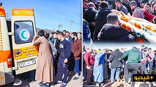 """تشييع جثمان الراحل """"ياسين الدهوري"""" بمقبرة الناظور بحضور قيادات استقلالية"""