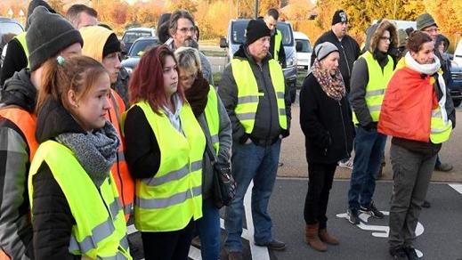 إحتجاجات السترات الصفراء تمتد الى هولندا