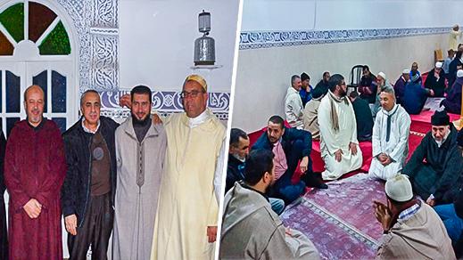 بونيس يحاضر في سيرة النبي بمسجد المحسنين في بوعرك