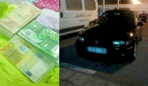 جمارك معبر بني انصار تعتقل شابا حاول إدخال مبلغ مالي مهم إلى مليلية المحتلة
