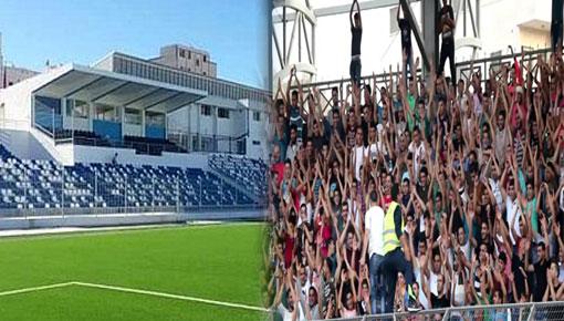 جمعية أنصار ومحبي فريق شباب الريف يستغربون تباطؤ الأشغال بملعب ميمون العرصي بالحسيمة