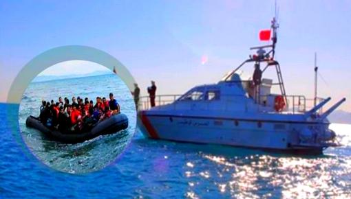 """بينهم جثتان.. البحرية الملكية تنقذ 298 """"حراك"""" كانوا على متن 5 قوارب قرب الناظور"""