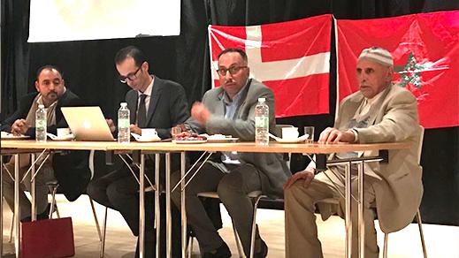 الدنمارك.. محمد احمد جين يأطر ندوة للجالية الصحراوية ضواحي كوبنهاجن