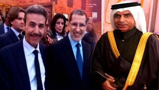 برلماني الدريوش الطيب البقالي يقود بمعية رئيس الحكومة وفداً لمشاركة سفير قطر بالرباط العيد الوطني لبلاده