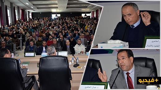 الدكتور عبد القادر العرعاري يحاضر بكلية سلوان في موضوع الإصلاح المرتقب لقانون الالتزامات
