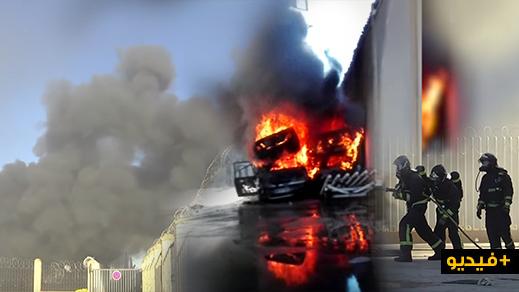 بالفيديو.. الشرطة الإسبانية توقف قاصرا مغربيا أشعل النار في 16 سيارة