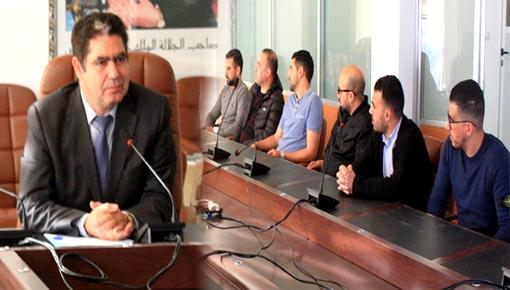 الفتاحي يجتمع برؤساء وممثلي الفرق الرياضية بإقليم الدريوش ويتعهد بتوفير الدعم خلال أسابيع
