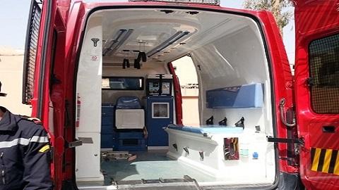 وأخيرا.. إلتحاق أول سيارة إسعاف بمقر الوقاية المدنية بسلوان والساكنة تطالب بالمزيد