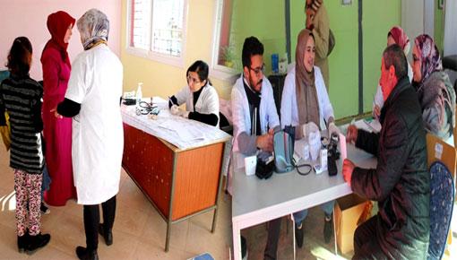 عمالة الدريوش ومندوبية الصحة تستهدفان ساكنة جبال جماعة إفرني في قافلة طبية متعددة التخصصات
