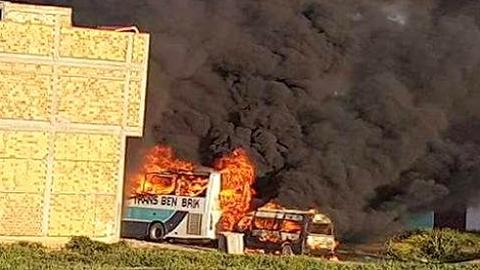 """استئنافية الحسيمة تؤيد حكم إدانة الناشط """"أشرف موديد"""" بـ20 سنة بتهمة إحراق مبنى للشرطة بإمزورن"""