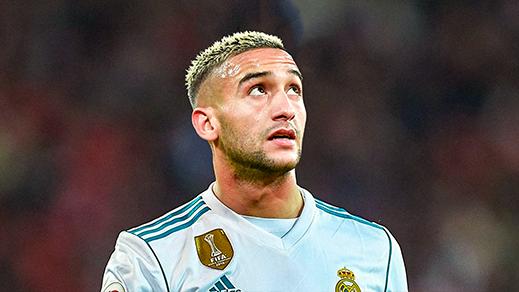"""ريال مدريد الإسباني يبدي رغبته في ضم الدولي المغربي """"حكيم زياش"""" خلال فترة الانتقالات الشتوية"""