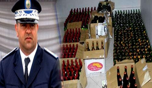 مثير.. شرطة العروي تحل بالدريوش وتداهم مستودعا للخمور المهربة بجماعة أزلاف
