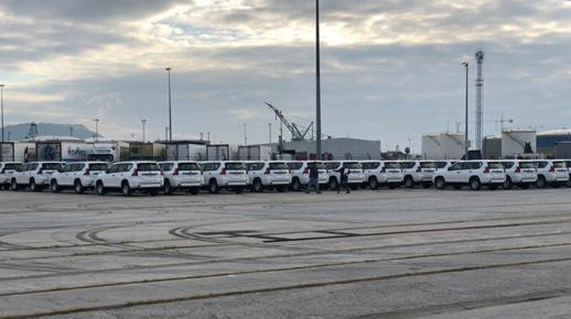 شرطة مليلية غاضبة من ارسال 75 سيارة رباعية الدفع للمغرب