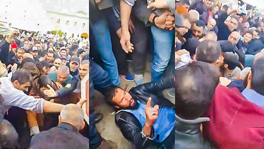 المديرية العامة للأمن الوطني: الشخص الذي هاجم أحد المصلين بمسجد الإمام مالك بإمزورن مختل عقليا وتم إعتقاله فورا