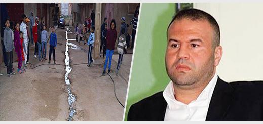حوليش يزور ساكنة حي بويزازرن ويعد ساكنتها بتلبية جميع مطالبهم التي تدخل ضمن إختصاصات البلدية