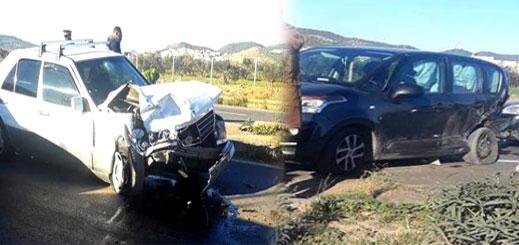 إصابة شخصين بجروح متفاوتة الخطورة في حادثة سير قرب سلوان
