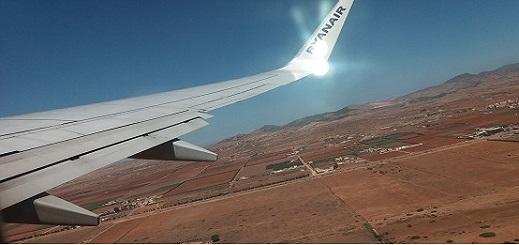 النزول في مطار العروي.. مشاهد رائعة من سماء الناظور