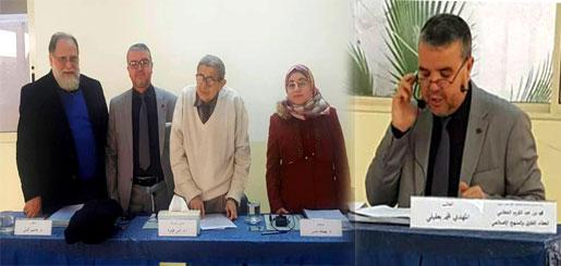 سليل مدينة ميضار الأستاذ المهدي بعقيلي ينال الماجستير في الدراسات الإسلامية بجامعة بيروت