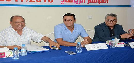 المكتب المسير لنادي شباب الريف الحسيمي لكرة القدم يقدم إستقالته بشكل جماعي