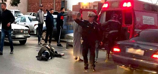 إصابة مسن بجروح متفاوتة الخطورة في حادثة سير وسط بني انصار